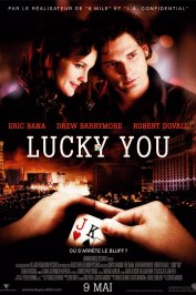 background picture for movie Lucky you