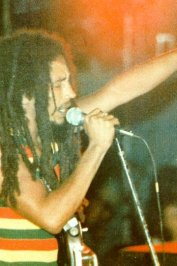 background picture for movie Bob marley (live in concert)