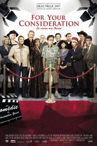 Affiche du film : For your consideration