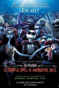 Affiche du film : L'Etrange noël de Monsieur Jack (3D)