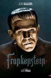 background picture for movie Frankenstein