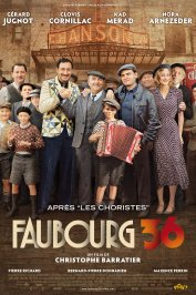 background picture for movie Faubourg 36