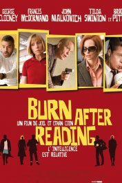 background picture for movie Burn after reading