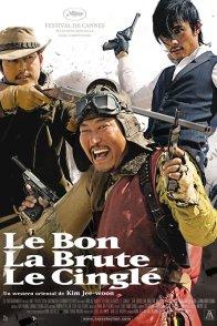 Affiche du film : Le bon, la brute et le cinglé