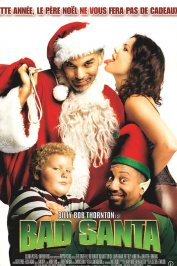 background picture for movie Bad Santa