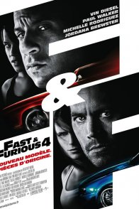 Affiche du film : Fast and furious 4
