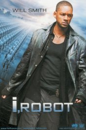 background picture for movie I, Robot
