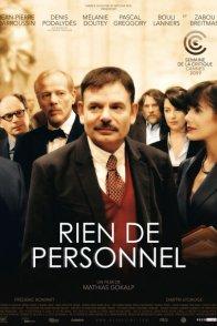 Affiche du film : Rien de personnel