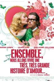 background picture for movie Ensemble, nous allons vivre une très, très grande histoire d'amour