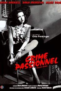 Affiche du film : Crime passionnel
