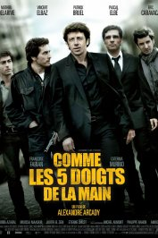 background picture for movie Comme les 5 doigts de la main