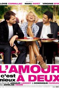 Affiche du film : L'amour, c'est mieux à deux