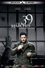 Affiche du film Les 39 marches
