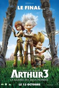 Affiche du film : Arthur 3 - La guerre des deux mondes