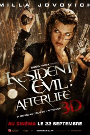 background picture for movie Resident Evil : Afterlife 3D