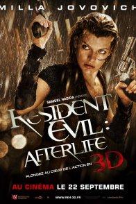 Affiche du film : Resident Evil : Afterlife 3D