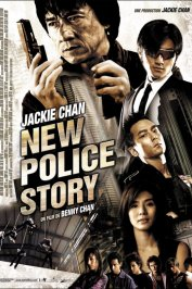 background picture for movie New police story