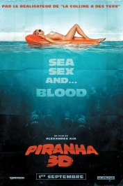 background picture for movie Piranha 3D