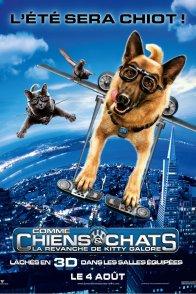 Affiche du film : Comme chiens et chats - La Revanche de Kitty Galore