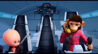 Affiche du film : Les Chimpanzés de l'espace 2