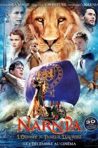 Affiche du film : Le Monde de Narnia : chapitre 3 - L'Odyssée du Passeur d'aurore