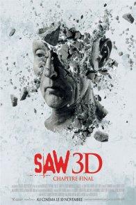 Affiche du film : Saw 3D - Chapitre final