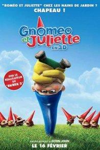 Affiche du film : Gnomeo et Juliette (3D)