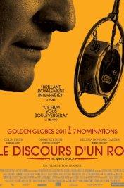 Affiche du film : Le Discours d'un roi