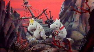 Affiche du film : Les Moomins et la chasse à la comète