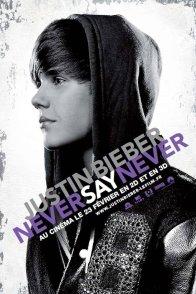 Affiche du film : Justin Bieber : never say never