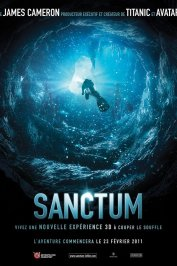 background picture for movie Sanctum 3D