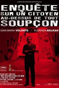 Affiche du film : Enquête sur un citoyen au dessus de tout soupçon