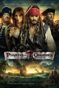 Affiche du film : Pirates des Caraïbes : la fontaine de Jouvence