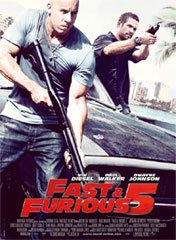 background picture for movie Fast and Furious 5