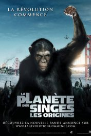 background picture for movie La planète des singes : les origines