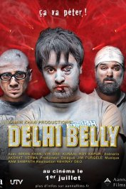 background picture for movie Delhi Belly