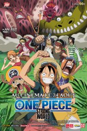 background picture for movie One Piece - Strong World