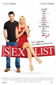 Affiche du film : (S)ex list