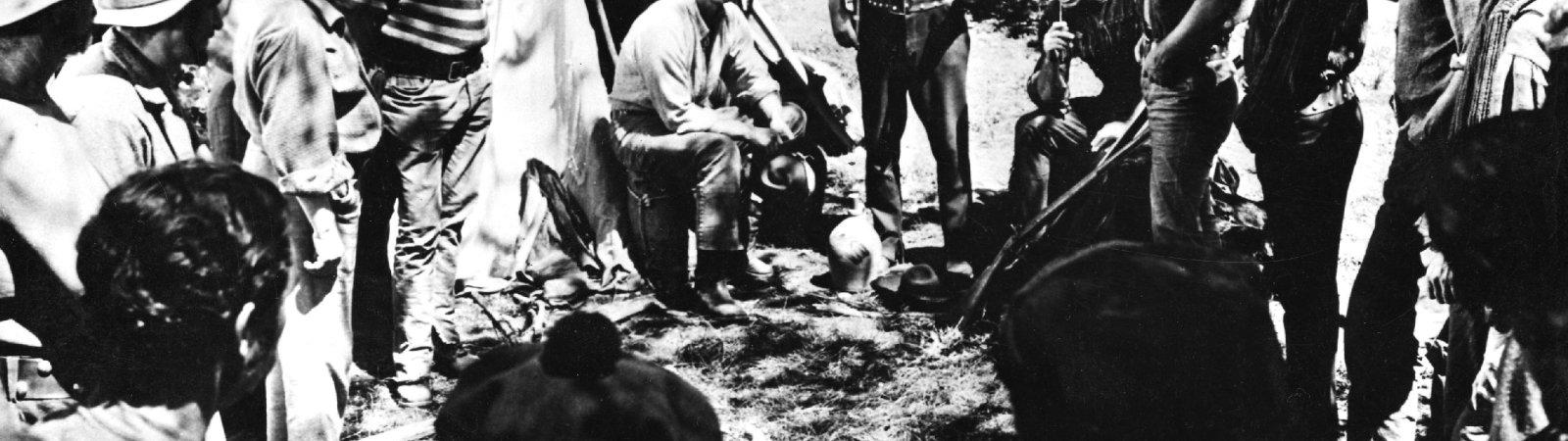 Photo dernier film Kirk Douglas