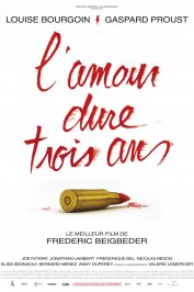 background picture for movie L'Amour dure trois ans