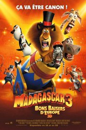 background picture for movie Madagascar 3 - Bons baisers d'Europe
