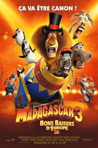 Affiche du film : Madagascar 3 - Bons baisers d'Europe