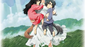 Affiche du film : Les Enfants Loups, Ame & Yuki