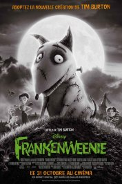 background picture for movie Frankenweenie