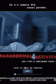 Affiche du film : Paranormal Activity 4