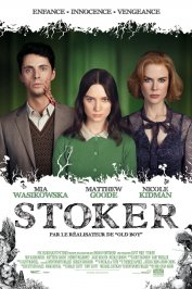 background picture for movie Stoker