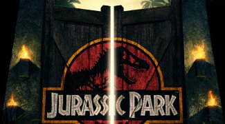 background picture for movie Jurassic Park