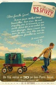 Affiche du film : L'extravagant Voyage du jeune et prodigieux T.S Spivet