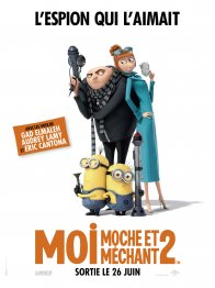 Affiche du film : Moi, moche et méchant 2