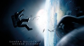 background picture for movie Gravity